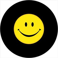 Smiley Face #2 Spare Tire Cover All Sizes-back up camera option