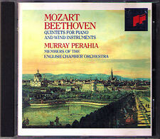 Murray Perahia: Beethoven Mozart PIANO Wind Quintet CD Neil Black Thea King Sony