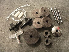 Drummer's Survival/Refresh Kit for Cymbals & Drums. Felts, T-Rods, Washers, Key.