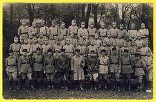 cpa CARTE PHOTO 61e Régiment Militaires Soldats Uniformes
