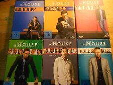 Dr. House - Season Staffel 1 2 3 4 5 6  [36 DVD] Hugh Laurie