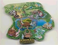LE OLD Disney Pin Set WDW Cast Member Atlas Animal Kingdom Park Puzzle Map Jumbo