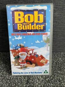 Bob The Builder Bobs White Christmas & Other Stories  Children's VHS Video Kids