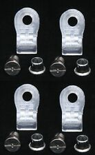 Lot of 4 Schutt Quarter Turn Football Facemask Clips w/ Hardware } Aaron Rodgers