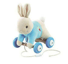 Peter Rabbit Pull Along Soft Toy Baby Boy or Girl Gift