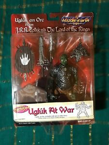 Middle Earth Toys Ugluk at War Action Figure NEW
