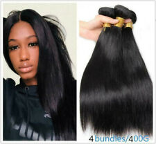 Straight Human Hair 4 Bundles/200G Brazilian Virgin hair Natural Color Extension