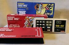 Coleco Quiz Whiz Computer Question & Answer Game with Extra Question Boxes Vinta