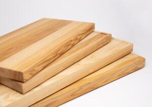 Hochwertiges Schneidebrett Küchenbrett aus Kern Esche Massiv Holz