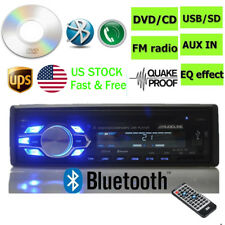 1DIN Car Radio Stereo DVD CD Player AUX-IN MP3 USB SD FM In-Dash LCD Display US