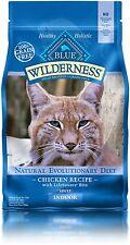 Blue Buffalo Cat Indoor Chicken Formula-Grain Free Dry Cat Food, 2 lb Bag