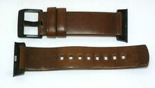 Nomad - Leather Watch Strap for Apple Watch 38mm/40mm - Rustic Brown
