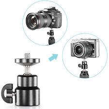 "Neewer Mini Metal 360 Degree Swivel Camera Tripod Ballhead with 1/4"" Screw"