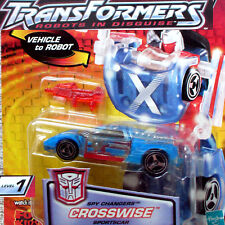 Crosswise - Hasbro Transformers Robots in Disguise RID - Spychanger level-1 NEW