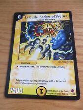 LA GUILE SEEKER OF SKYFIRE DUEL MASTERS CARD