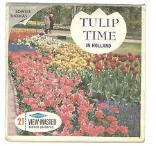 SEALED vintage GAF View Master TULIP TIME IN HOLLAND reel set NETHERLANDS dutch!