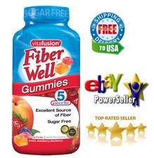 Vitafusion Fiber Well Gummy Vitamin Supplement 220 CT Gummies Sugar Free