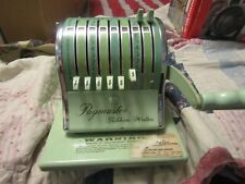Vintage Paymaster Series 8000 Check Ribbon Writer with Key Price New $394.50