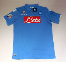 FW14 NAPOLI TAILLE XL TRICOT HAUT COURSE HOME HAUT JERSEY MAILLOT CAMISETA
