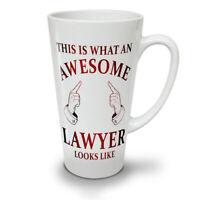 Awesome Lawyer NEW White Tea Coffee Latte Mug 12 17 oz | Wellcoda