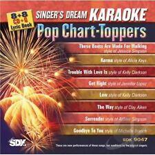 Singer's Dream Karaoke SDK9047 CDG -  Pop Chart-Toppers