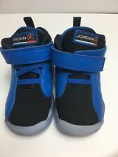 JORDAN JUMPMAN TODDLER SZ 5c TEAM II PREMIUM 861434-400 BLUE SPARK/BLACK