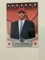 2006 Upper Deck Ovation Bulls Basketball Card #129 Thabo Sefolosha Rookie /999