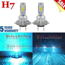2x H7 LED Headlights Bulbs Kit Hi-Low Beam 110W 40000LM Super Bright 8000K Blue