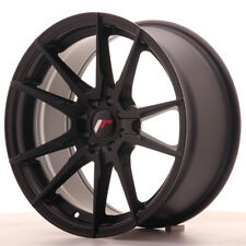 "Un Cerchio in Lega Japan Racing JR21 17"" x 8"" ET 35 5 x 108 /112 Nero Opaco matt"