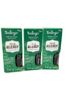 3 PACK Oilogic Essential Oil Care Sinus And Allergy Essential Oil Roll On U14C