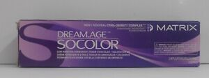 MATRIX SoColor DREAM.AGE Low Ammonia Permanent Hair Color With Cera Oil ~ 3 oz.