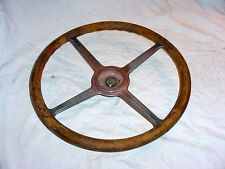 Vintage Antique Wood Wooden Steering Wheel Pontiac Oakland Oldsmobile Buick Nash