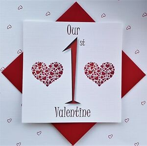 Our First Valentine card. To the one I love