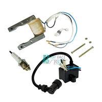 Stator Magneto Ignition Coil CDI Spark Plug 49 66cc 80cc 2-Stroke Motorized Bike