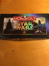 Parker Brothers MONOPOLY Star Wars Classic Trilogy Edition 1997 VINTAGE Used