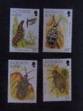 Ascension 1998 Biological Control using insects SG737/40 MNH UM unmounted mint