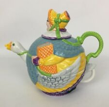 Dept. 56 Storybook Tea For One Set Mother Goose Teapot Cup