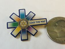 ROTARY INTERNATIONAL LEAD THE WAY PIN
