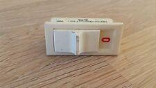 RESTPOSTEN Set 3x Schalter, weiß, Schiebeschalter, 6A max. 250VAC 37x17mm