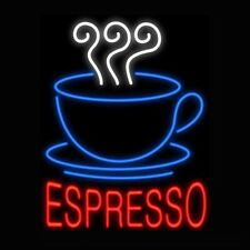 "New Coffee Cafe Espresso Beer Neon Sign Bar Pub Gift Light 20""x16"""