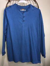 Men's Foundary Supply Co. 100% Cotton Blue Shirt Size 2XLT