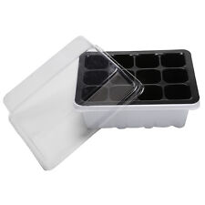 12Hole Plant Seeds Grow Box Insert Propagation Nursery Seedling Starter Tray CW