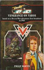 RARE: Doctor Who - Vengeance on Varos. Virgin blue spine VGC minus Target Books.