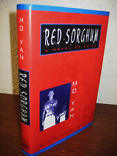 1st Edition RED SORGHUM Mo Yan NOBEL PRIZE Fiction NOVEL First Printing CLASSIC