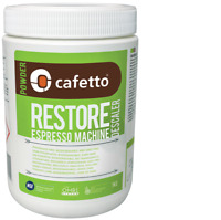 CAFETTO 1kg ORGANIC RESTORE DESCALER Powder Espresso Machine cleaner ALL BRANDS