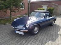 1970 Alfa Romeo Spider 1750 Rundheck Oldtimer TÜV und H