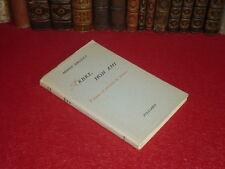 MINOU DROUET / ARBRE MON AMI / POEMES & LETTRES EO 1956 1/200 Rare Supercherie