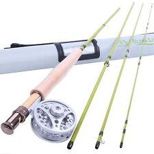 Maxcatch Fly Fishing Rod Combo Kit 2/3WT Medium-fast & Aluminum Fly Reel