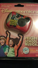 New Sealed High School Musical Disney Digital Camera Disney Pix Micro Camera