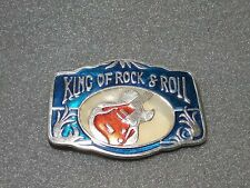 "Fashion belt buckle "" King of Rock & Roll """